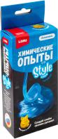 Набор для создания слайма Lori Химические опыты. Монстрики Style Slime Голубой / Оп-027 -