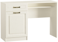 Туалетный столик Mobi Ливерпуль 12.46 (белый/ясень ваниль НМ-1012-100 ПВХ) -