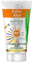 Крем солнцезащитный Health Academy Extra Aloe экстразащита для всей семьи SPF80+ (75мл) -