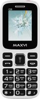 Мобильный телефон Maxvi C26 (белый/красный) -