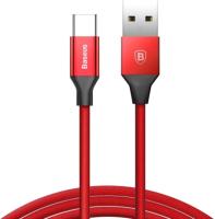 Кабель Baseus Yiven USB 2.0 - USB Type-C / CATYW-09 (1.2м, красный) -