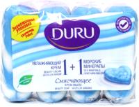 Набор мыла Duru 1+1 Морские минералы (4x90г) -