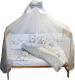 Комплект постельный в кроватку Баю-Бай Ми-ми Мишки / К30-ММ5 (серый) -