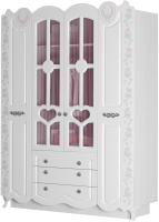 Шкаф Аквилон Розалия №24 (лиственница белая) -