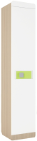 Шкаф-пенал Аквилон Стиль №5.1 правый (туя светлая/лайм) -