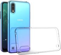 Чехол-накладка Case Better One для Galaxy A01 (прозрачный блистер) -