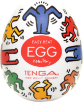 Мастурбатор для пениса Tenga Keith Haring Egg Dance / 31001 -