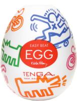 Мастурбатор для пениса Tenga Keith Haring Egg Street 31002 / KHE-001 -
