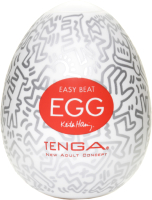 Мастурбатор для пениса Tenga Keith Haring Egg Party 43389 / KHE-003 -