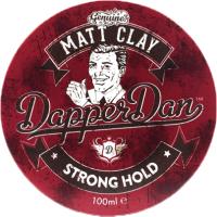 Глина для укладки волос DapperDan Matt Clay MC01 (100мл) -