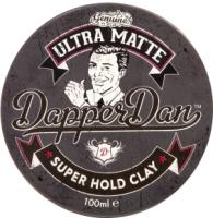 Глина для укладки волос DapperDan Ultra Matt Clay UM01 (100мл) -