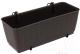 Кашпо Prosperplast Ratolla DRL400PW-440U (коричневый) -