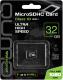 Карта памяти Qumo microSDHC (Class 10 UHS-I) 32GB (QM32GMICSDHC10U1NA) -