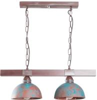 Потолочный светильник N&B Light Вириони 40303 (малахит патина дерево) -