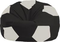 Бескаркасное кресло Flagman Мяч Стандарт М1.1-392 (черный/белый) -