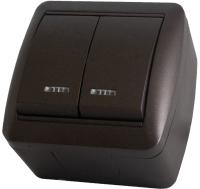 Выключатель TDM Селигер SQ1818-0204 (шоколад) -