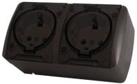 Розетка TDM Селигер SQ1818-0209 (шоколад) -
