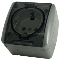 Розетка TDM Селигер SQ1818-0107 (серый) -