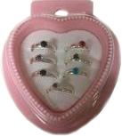 Набор аксессуаров для девочек Pir Holding Колечки для девочки / 1028 (7шт) -
