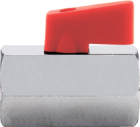 Шаровой кран Itap DN15 1250012N ВР-ВР (флажок) -