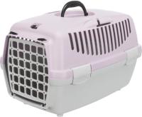 Переноска для животных Trixie Traveller Capri I 39813 (светло-серый/светло-сиреневый) -