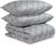 Комплект постельного белья Tkano TK19-DC0005 (соцветие, горчичный) -