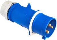 Вилка силовая Bylectrica ВП16-972 (синий/серый) -