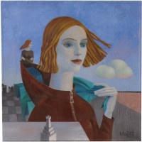 Авторская картина ХO-Gallery Ладья / МТ-2020-002 -