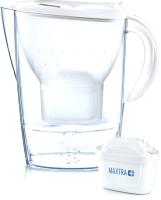 Фильтр питьевой воды Brita Marella XL (белый, + 3 картриджа) -