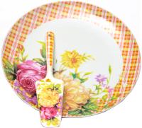 Блюдо для торта Olaff 124-01196 (с лопаткой) -