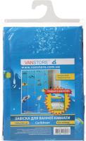 Шторка-занавеска для ванны VanStore Style Peva 61004 (без колец) -