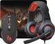 Мышь+коврик Defender Devourer MHP-006 / 52006  (с ковриком и гарнитурой) -