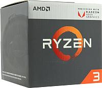 Процессор AMD Ryzen 3 2200G (YD2200C5FBBOX) -