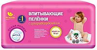 Набор пеленок одноразовых детских Пелигрин Сухая попка СП6030 60x60 (30шт) -