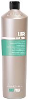 Шампунь для волос Kaypro Hair Care Liss разглаживающий для вьющихся и непослушных волос (1л) -