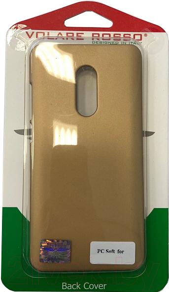 Купить Чехол-накладка Volare Rosso, Soft-Touch для J730 Galaxy J7 2017 (золото), Китай, пластик