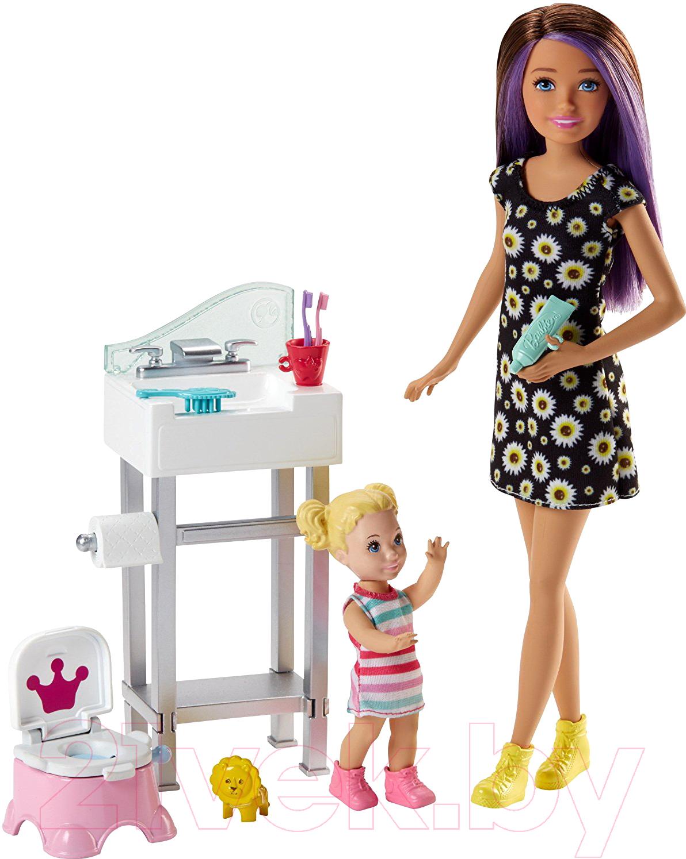 Купить Кукла с аксессуарами Barbie, Няня / FHY97/FJB01, Китай, пластик