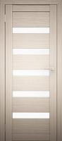 Дверь межкомнатная Юни Двери Амати 03 90x200 (дуб беленый/стекло белое) -