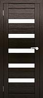 Дверь межкомнатная Юни Двери Амати 03 80x200 (дуб венге/стекло белое) -