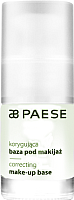 Основа под макияж Paese Correcting Make-Up Base корректирующая (15мл) -