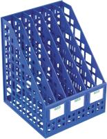 Лоток для бумаг Стамм ЛТ814 (синий) -