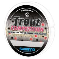 Леска монофильная Shimano Trout Competition Mono 0.22мм / TROUTCM15022 (150м, красный) -