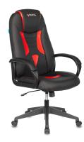 Кресло геймерское Бюрократ Zombie Viking 8N (искусственная кожа черный/красный) -