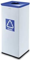 Контейнер для мусора Alda Eco Prestige 9028204 (серый/голубой) -