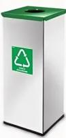 Контейнер для мусора Alda Eco Prestige 9028205 (серый/зеленый) -