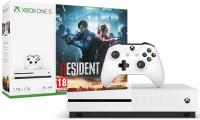 Игровая приставка Microsoft Xbox One S 1Tb + Resident Evil 2 / 234-00562 -