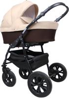 Детская универсальная коляска Smile Line Serenade 20 2 в 1 (Se 28, коричневый/бежевый) -