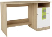 Письменный стол Аквилон Стиль №17 (туя светлая/лайм) -