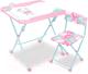 Комплект мебели с детским столом Ника КНД5/3 Балерина -
