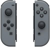 Комплект игровых контроллеров движения Nintendo Switch Joy-Con / 045496430559 (серый) -